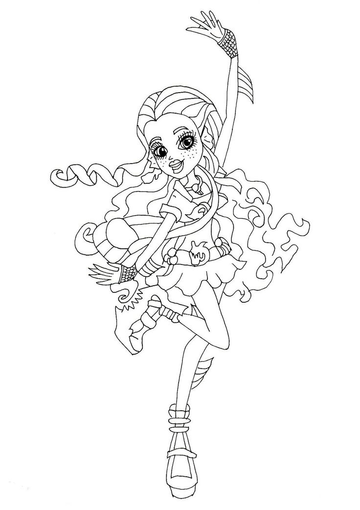 monster high - York Coloring Pages Printable