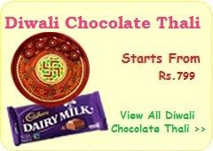 Diwali Chocolate Thali, Send Chocolate Thali on Diwali, Diwali Chocolate Thali to India, Chocolate Thali for Diwali, Online Chocolate Thali to India, Deepavali Chocolate, Buy Yummy Chocolate Thali Online on Diwali Festival with Free Shipping to India at Giftbharat.com.