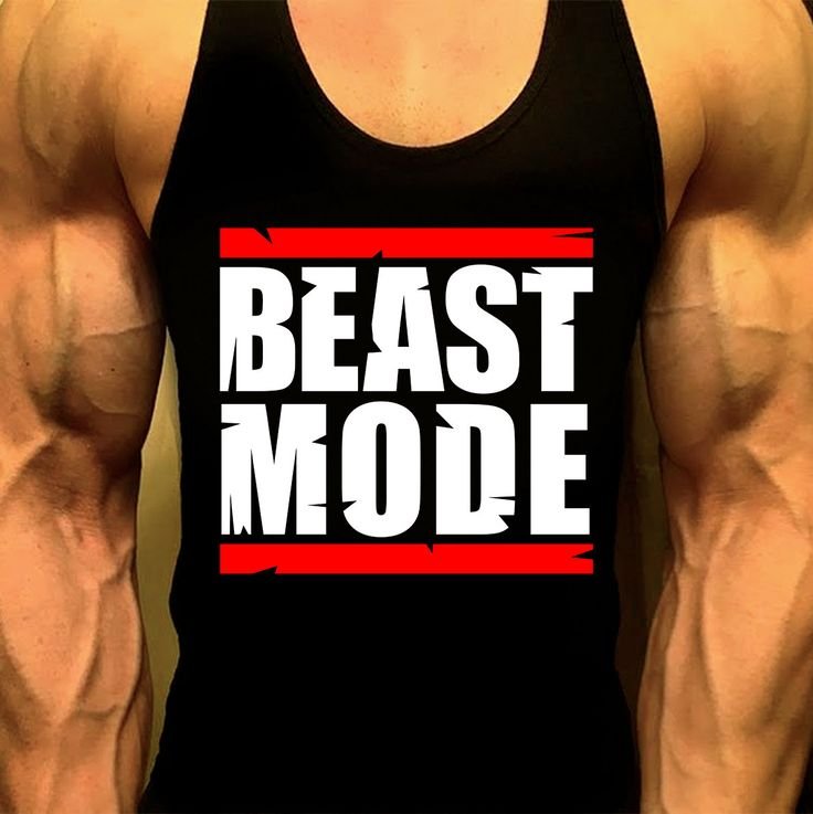 Beast Mode T'Shirt, Mens Workout Tank, Workout Tank, Men Gym Shirt, Mens Gym Tank, Workout Clothes, Gym Shirt, Muscle Tee, Mens Fitness Tank by MyFitnessApparel on Etsy