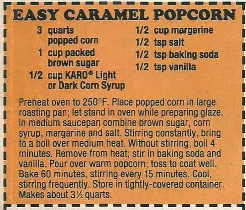 Aunt B Simply Living: Easy Caramel Popcorn