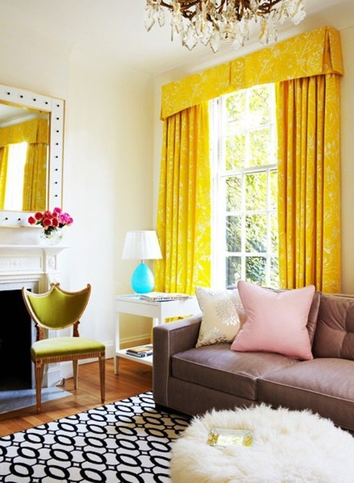 14 best Home Furnishings – Combinations With Yellow In The Interior ...
