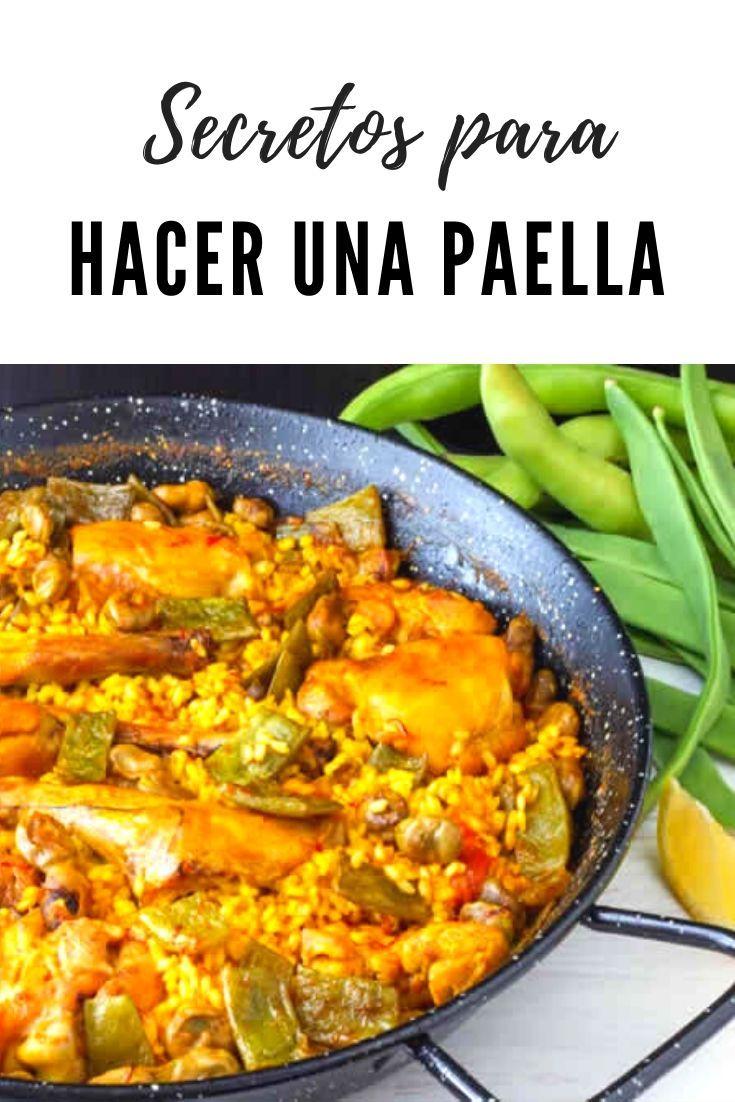 Secretos Para Hacer Una Paella 2021 Paellas Receta Receta De Paella De Mariscos Recetas De Comida