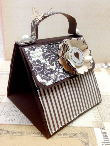 Explosion box card, paper purse.