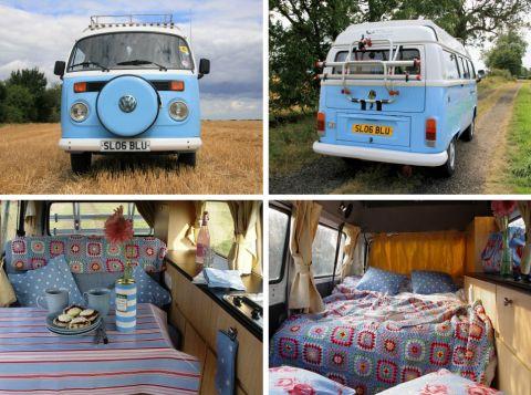 vintage van: Crochet Blankets, Dreams Houses, Bus, Vw Campers Vans, Campervan, Crochet Throw, Roads Trips, Vw Vans, Roadtrip