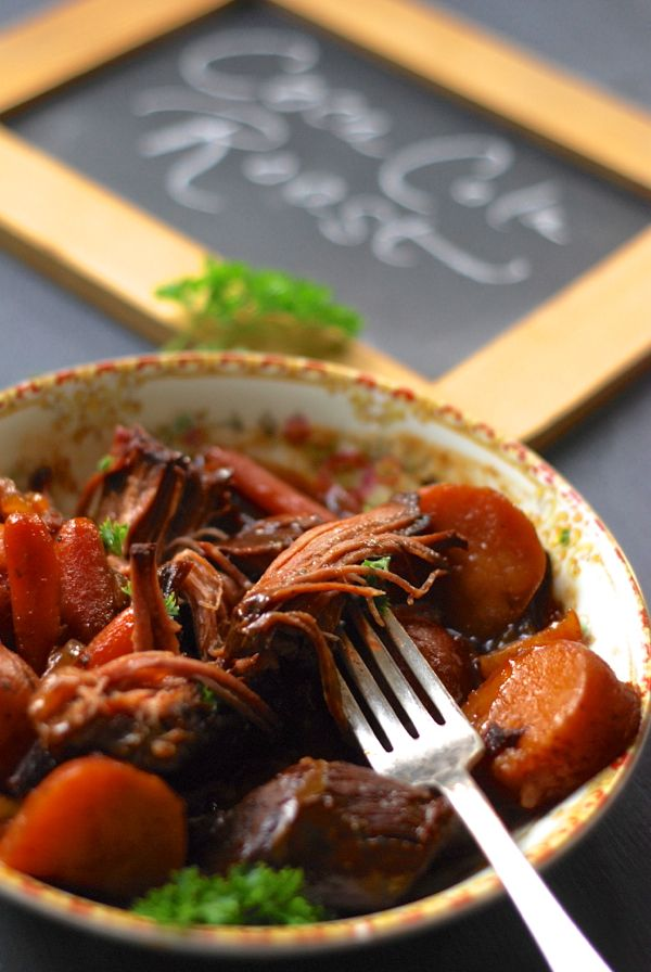 Crock Pot Coca Cola Pot Roast. Easy and Delicious!