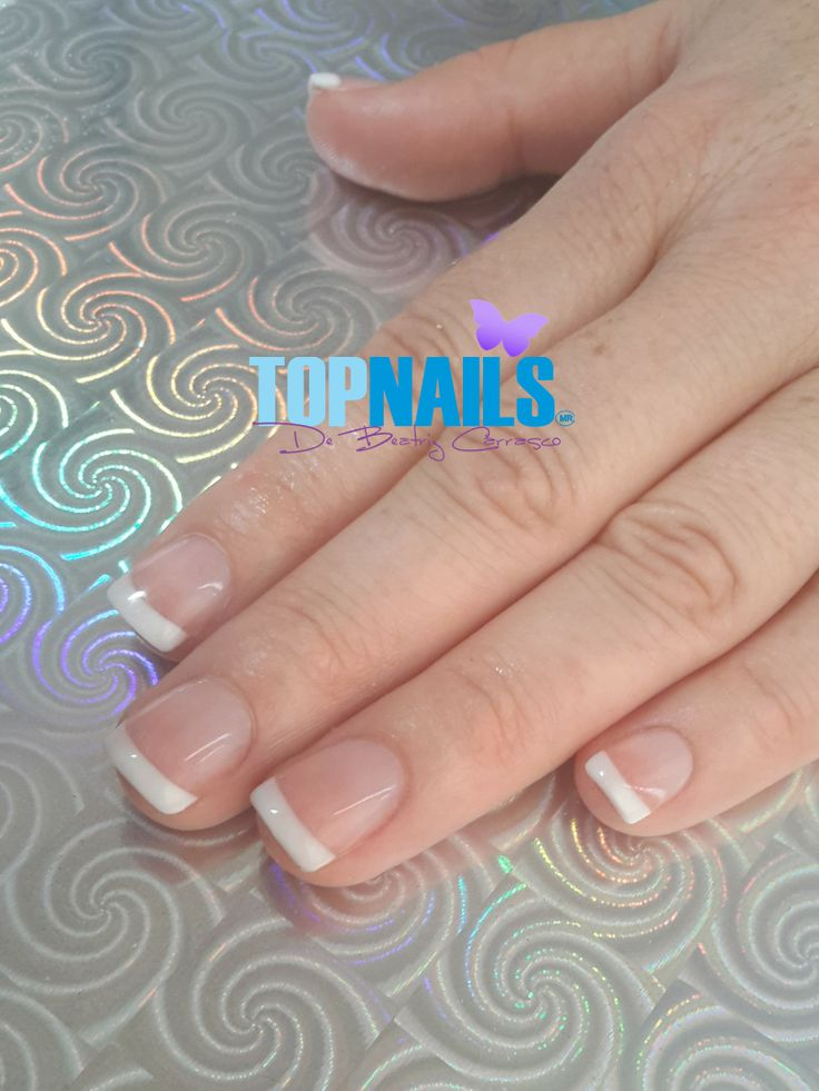 Uñas Acrílicas Francesas 💅(Acrylic Nails French) 💅🌺Hazte Fans o Me Gusta 👍 en https://www.facebook.com/topnails.cl 🌸  🇨🇱www.topnails.cl ☎94243426, saludos Beatriz