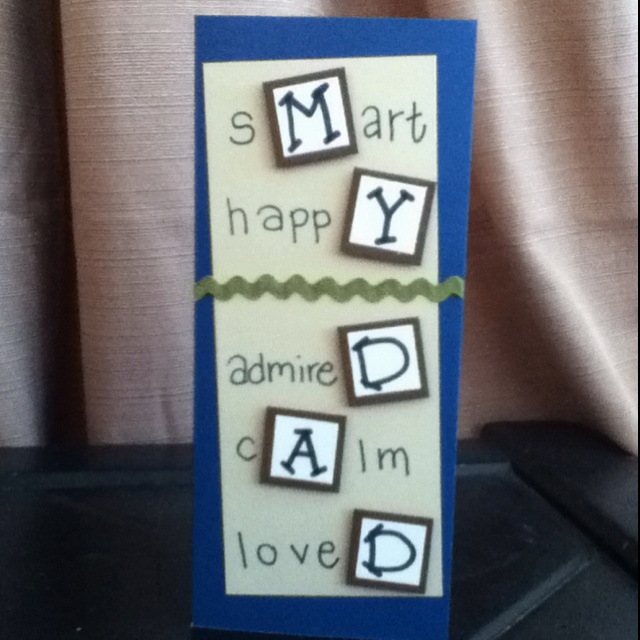 Birthday Card For Dad Cards For My People Made By Me