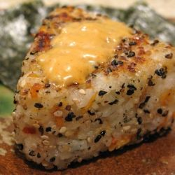 Grilled Salmon Onigiri Absolutely delicious!!