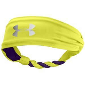 Under Armour Twisted Headband - Women's - Football - Accessories - Bitter/Zone