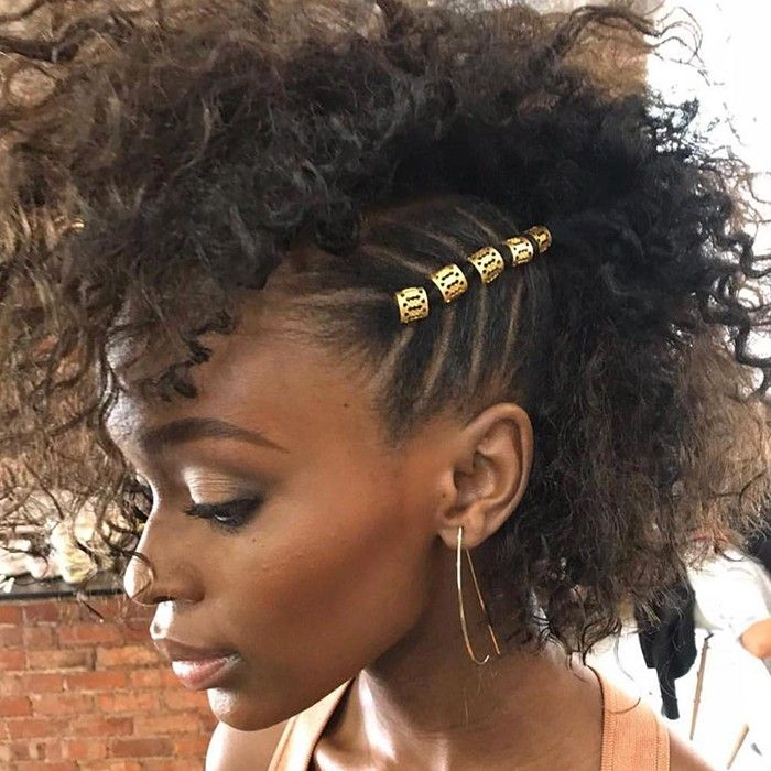 15 Curly Hair Accessories You Need To Try Short Natural Hair Styles Hair Styles Natural Hair Styles