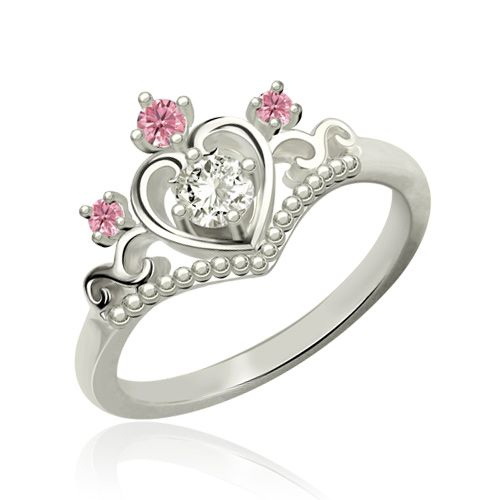 Fairytale Princess Tiara Ring My Princess Ring for Her