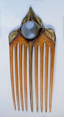 The Hair Combs of Lucien Gaillard | Barbaraannes Hair Comb Blog