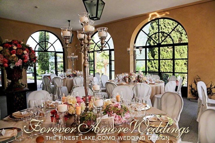 Wedding Loggia Segrè, Villa Balbianello. Event by ForeverAmoreWeddings © #foreveramoreweddings #villabalbianellowedding #weddinglakecomoitaly