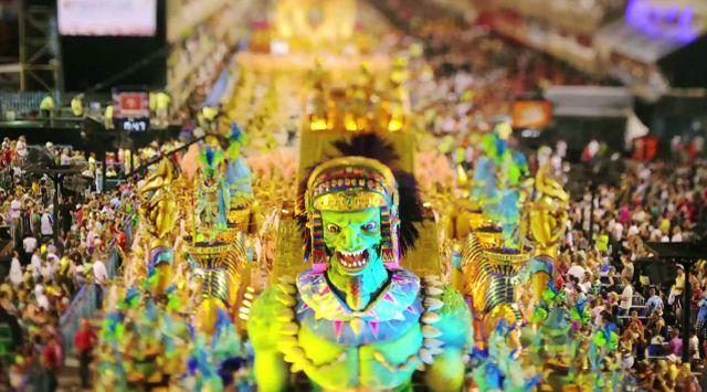 リオのカーニバル ミニチュア映像 The City of Samba