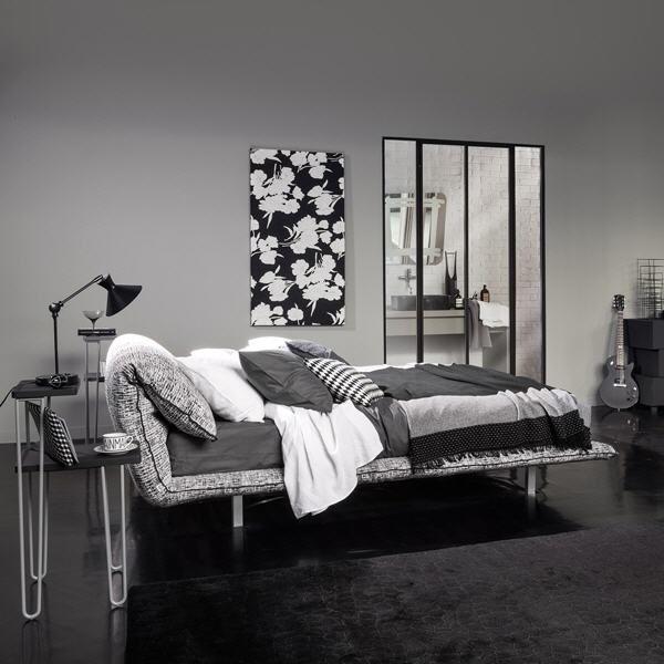 Letti & Co. | TV bed | Discover it on http://www.malfattistore.it/en/product/tv/ | #malfattistore #bedroom #letti #camera #bed #italiandesign #homedecor #modernfurniture