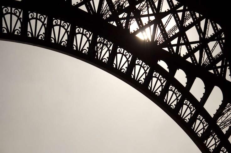 Eiffel Tower arch