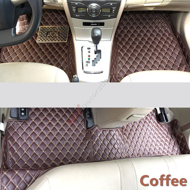 For Audi A7 4G 2012-2014, 2015 2016  Accessories Interior Leather Carpets Cover Car Foot Mat Floor Pad 1set #Affiliate