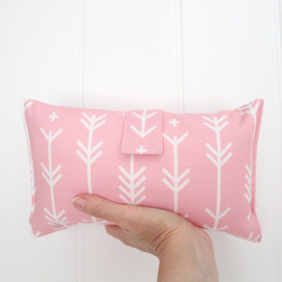 Nappy Wallet / Nappy Change / Baby Shower Gift  Pink Arrows