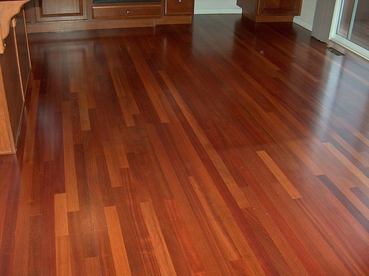Cherry engineered wood flooring brazilian cherry for Cherry laminate flooring