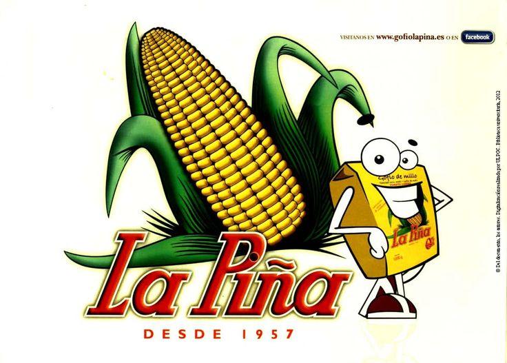 La Piña desde 1957: folleto promocional del gofio
