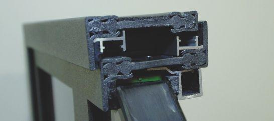 Le barretage spécial des profilés en acier à rupture de pont thermique.