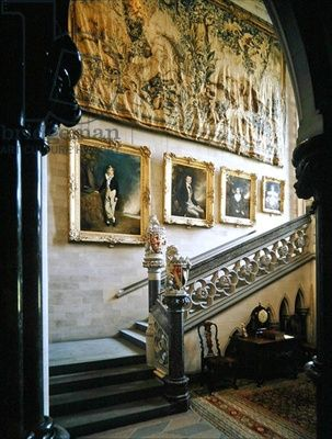 The Grand Staircase, Arundel Castle (photo)