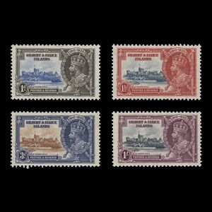 Gilbert & Ellice Islands 1935 (Unused) Silver Jubilee