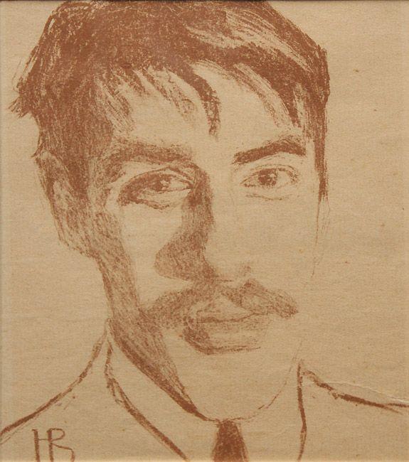 Надежда Войтинская. Портрет Николая Чуковского. 1909