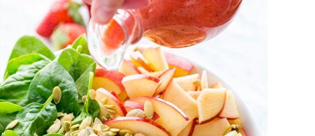 Vinagreta de fresa, exótica y refrescante - Cocina y Vino
