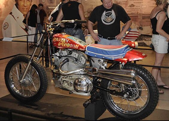 Evel Knievel 1970 Harley Davidson Xr750 Jump Bike By: 211 Best Evil Knievel Images On Pinterest