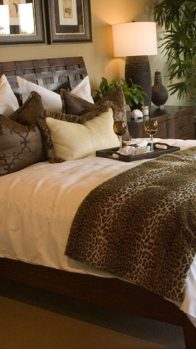 Luxury Leopard Print Bedroom Bedroom Decor Leopard