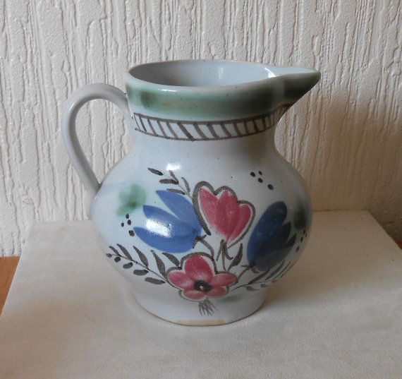 Large Vintage Scotish  Buchan Water Jug nr by DutchTrader on Etsy, £15.00