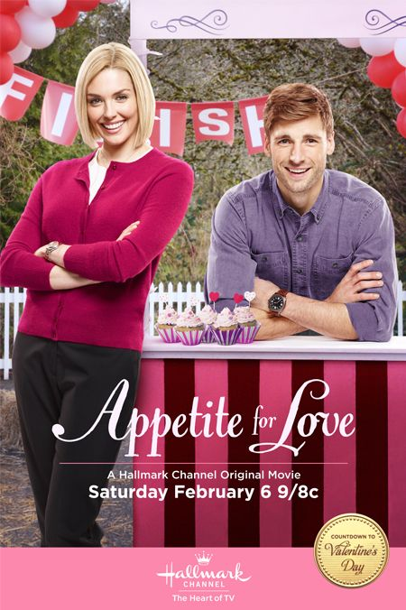 "Its a Wonderful Movie - Your Guide to Family Movies on TV: Hallmark Channel's Countdown to Valentine's Day: ""Appetite for Love"""