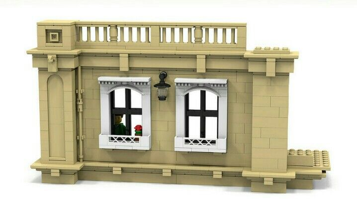 Lego wall and window details
