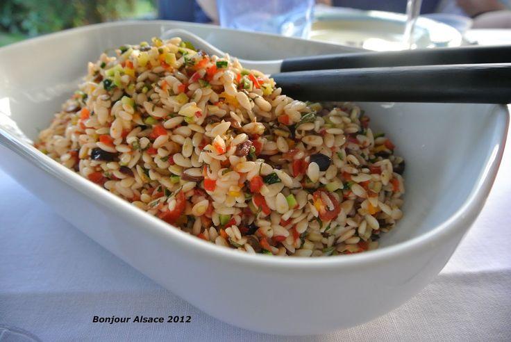 ... Bonjour Alsace: Ein Salat-Highlight für wundervolle Sommerabende: Kritharaki-Salat