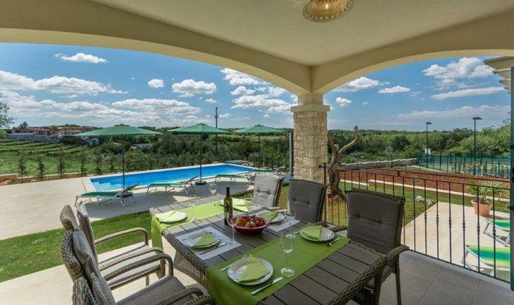 Villa Dunja #Ferienhaus mit #Pool in #Istrien #Kroatien. Info & Buchung #IstrienPur unter: https://plus.google.com/u/0/110917651114053995276