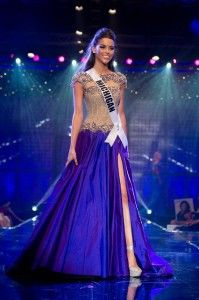 Miss Michigan Teen USA 2013,Ruby King,pageant evening gown