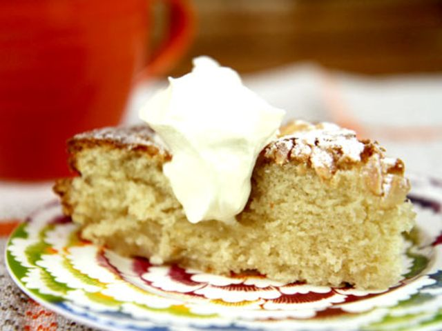 Saftig äppelkaka med mandelmjöl (kock Lisa Lemke)