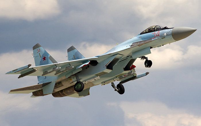 A Late Holiday Gift: Two Su-35S Jets Enter Service in Russia's Far East