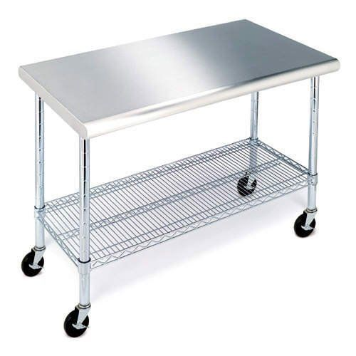Restaurant Stainless Steel Kitchen Work Prep Table Nsf