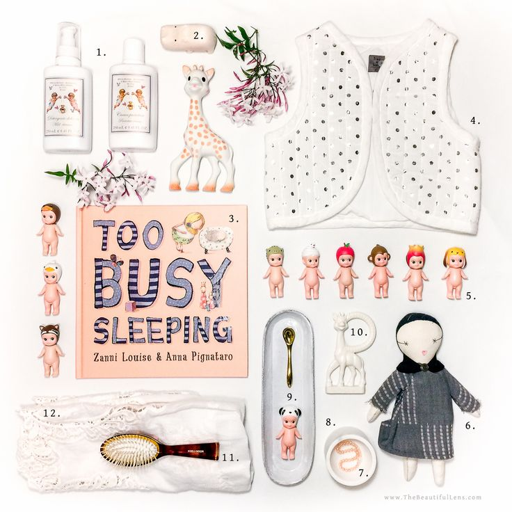 Too Busy Sleeping / The Beautiful Lens New Baby Gift Guide