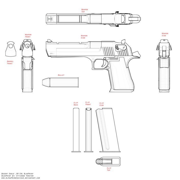 desert eagle blueprint by alphaprimesaviour