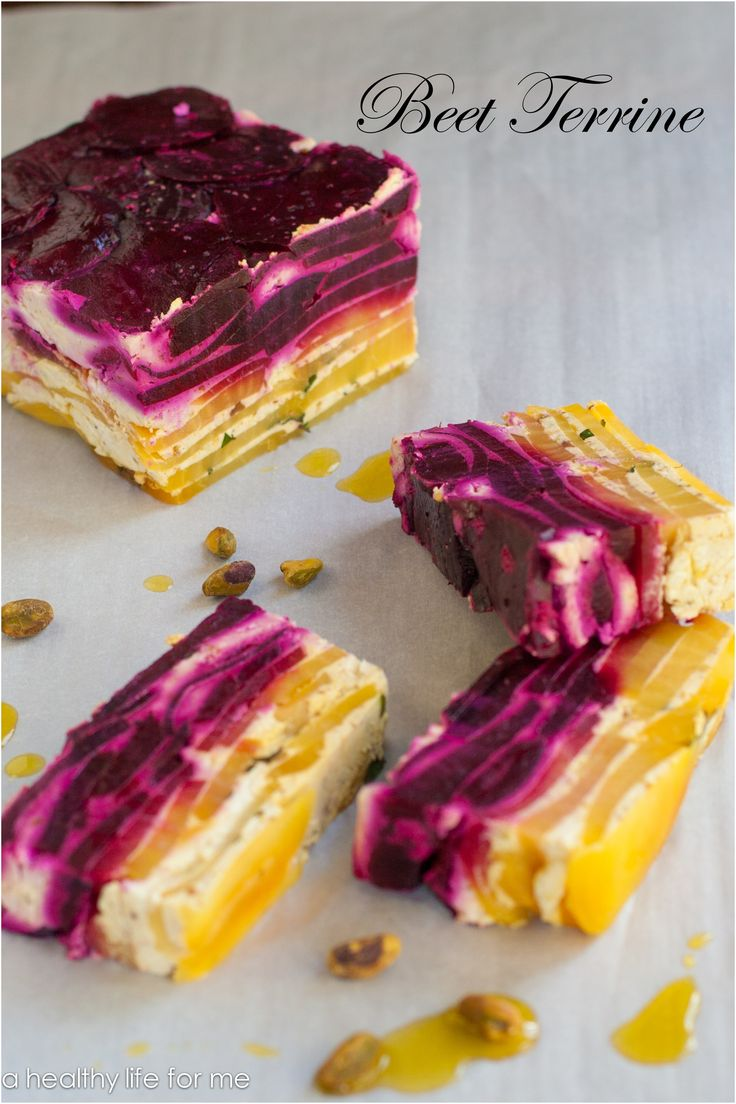 Beet Terrine Recipe | Andrea: Can substitute yellow beets with Yukon Potatoes: Yummmm