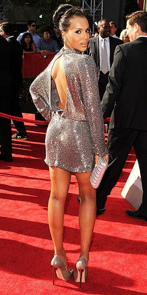 Kerry Washington. With a GREAT BACK!