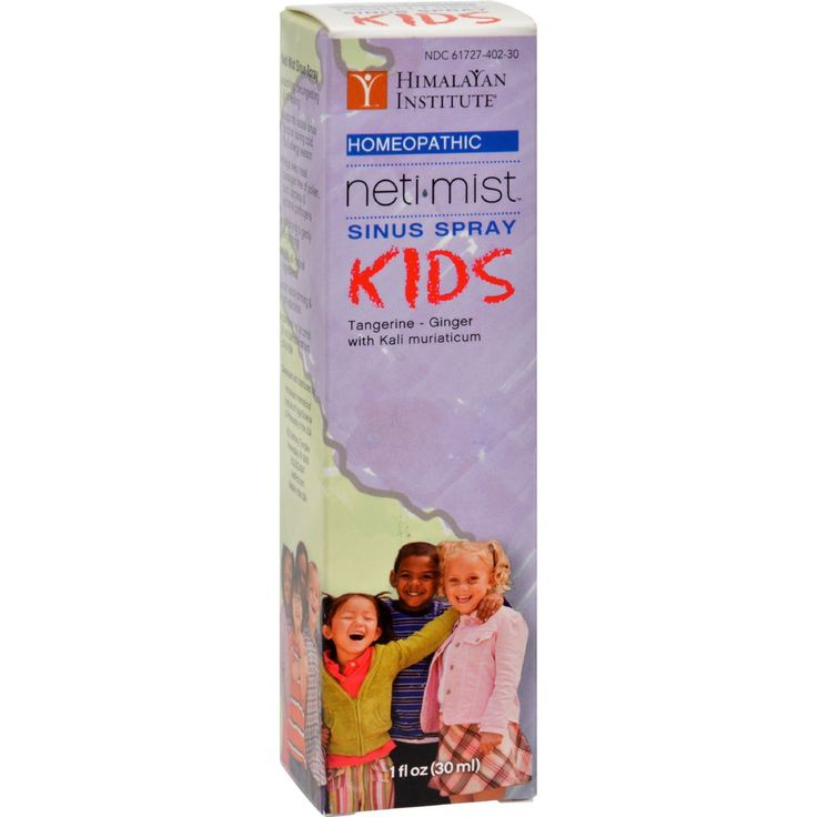 Himalayan Institute Neti Mist Kids Sinus Spray - 1 fl oz - Neti Mist KIDS Sinus Spray is a new homeopathic, all natural sinus spray formulated with ingredients to help soothe and relieve congestion in your nasal passages. It is designed to assist and facilitate easier and clearer breathing and may be effective for seasonal sinus support.* Helps relieve congestion in nasal passages Helps alleviate cold and allergy symptoms Helps keep nasal passages free of pollen, dust, and other irritants…
