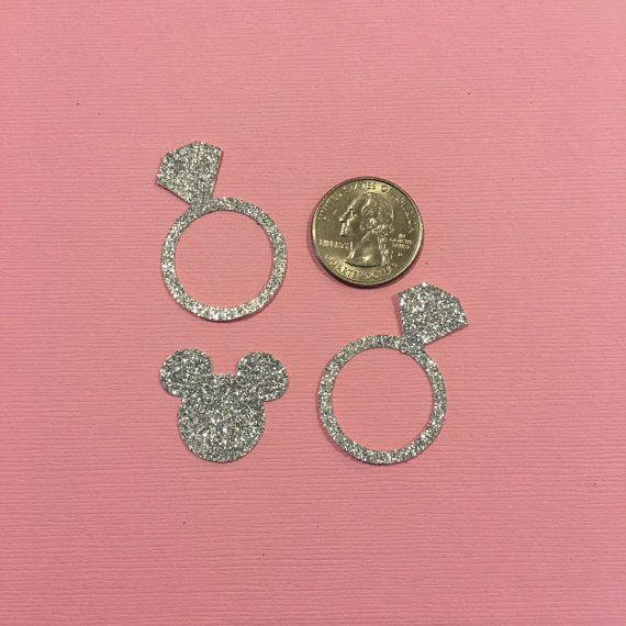 Confeti de boda inspirado de Minnie Mouse  por GreatCrafternoon