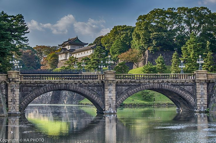 Imperial Palace, Nijubashi Bridge, Tokyo by HA PHOTO - Photo 63128755 - 500px