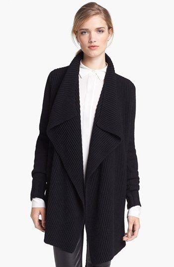 I love this cozy drape cardigan