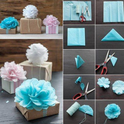 Decorative flower! You can make paper for gift box or brooch or fabric for use in clothing and costume!