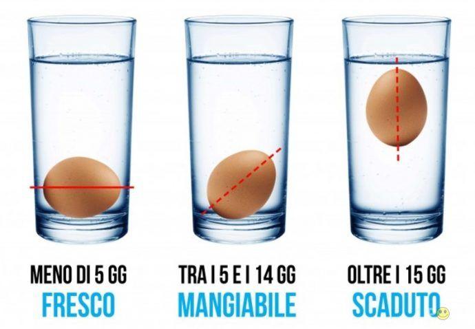 Freschezza uova (o scadute?)   Uova, Uova sode, Forni a microonde